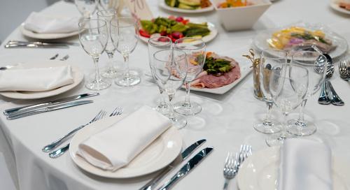 Принципы сервировки праздничного стола