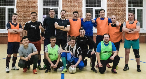 Завершился осенний футбольный сезон 2019 года компании «BanketRent»