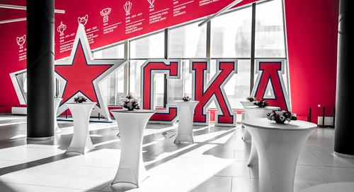 Презентация хоккейного клуба СКА сезона 2019/20 года